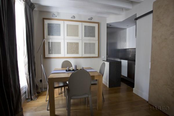 location temporaire t2 meubl bastille paris 4e habeo. Black Bedroom Furniture Sets. Home Design Ideas