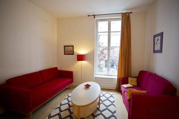 location temporaire t2 meubl exelmans paris 16e habeo. Black Bedroom Furniture Sets. Home Design Ideas
