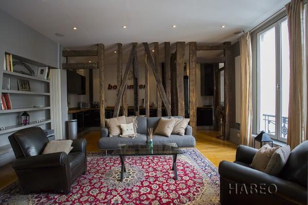 Location courte dur e t3 quartier du sentier paris 2e habeo - Quartier du sentier paris ...