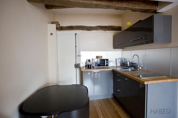 location temporaire studio meubl bonne nouvelle paris 10e habeo. Black Bedroom Furniture Sets. Home Design Ideas